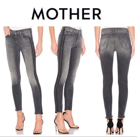 92de2ab75e72 MOTHER Jeans | High Waisted Looker Miss Moody Two Shoes Racer | Poshmark